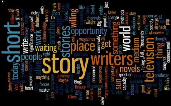 Short Story Wordle