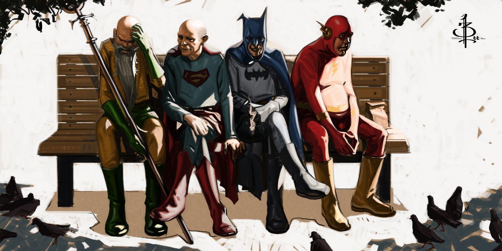 Superman et Batman gay sexe