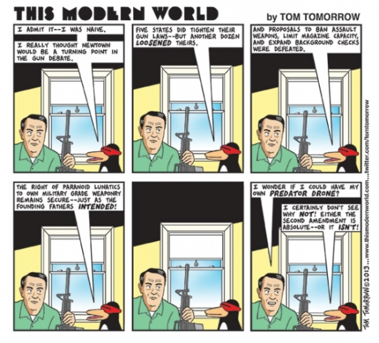 Gun Love - Tom Tomorrow